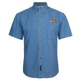 Denim Shirt Short Sleeve-Bryant Official Logo