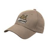 Khaki Heavyweight Twill Pro Style Hat-Bryant Official Logo