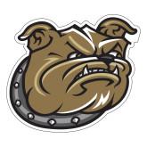Large Magnet-Bulldog Head, 12 in W