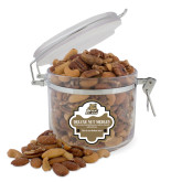Deluxe Nut Medley Round Canister-Bryant Official Logo