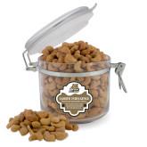 Cashew Indulgence Round Canister-Bryant Official Logo