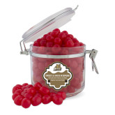 Sweet & Sour Cherry Surprise Round Canister-Bryant Official Logo