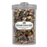 Snickers Satisfaction Large Round Canister-Bryant Official Logo