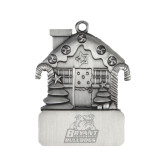 Pewter House Ornament-Bryant Official Logo Engraved