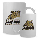 Full Color White Mug 15oz-Bryant Official Logo