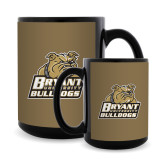 Full Color Black Mug 15oz-Bryant Official Logo