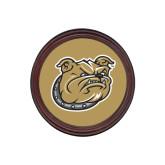 Round Coaster Frame w/Insert-Bulldog Head