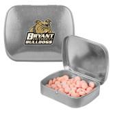 Silver Rectangular Peppermint Tin-Bryant Official Logo