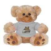 Plush Big Paw 8 1/2 inch Brown Bear w/Grey Shirt-Bryant Official Logo