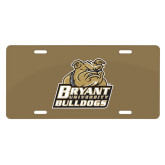License Plate-Bryant Official Logo