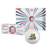 Callaway Supersoft Golf Balls 12/pkg-Bryant Official Logo