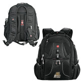 Wenger Swiss Army Mega Black Compu Backpack-Bryant Official Logo