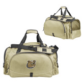 Challenger Team Vegas Gold Sport Bag-Bulldog Head