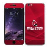 iPhone 6 Skin-Ball State Cardinals w/ Cardinal