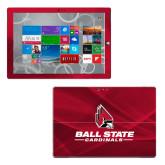 Surface Pro 3 Skin-Ball State Cardinals w/ Cardinal