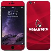 iPhone 6 Plus Skin-Ball State Cardinals w/ Cardinal