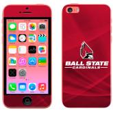 iPhone 5c Skin-Ball State Cardinals w/ Cardinal
