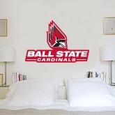2 ft x 3 ft Fan WallSkinz-Ball State Cardinals w/ Cardinal