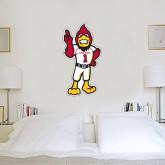 1.5 ft x 3 ft Fan WallSkinz-Charlie The Cardinal