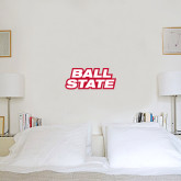 6 in x 1 ft Fan WallSkinz-Ball State Stacked