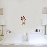 6 in x 1 ft Fan WallSkinz-Charlie The Cardinal