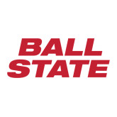 Large Decal-Ball State Stacked, 12 inches wide