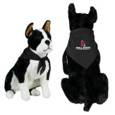 Black Pet Bandana-Cardinal Head Ball State Cardinals