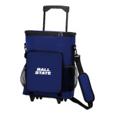 30 Can Royal Rolling Cooler Bag-Ball State Stacked