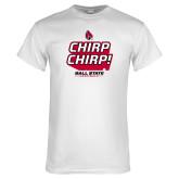 White T Shirt-Slogan / Hashtag 1