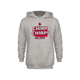 Youth Grey Fleece Hood-Slogan / Hashtag 1