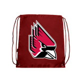 Cardinal Drawstring Backpack-Cardinal