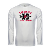 Syntrel Performance White Longsleeve Shirt-Cross Country XC