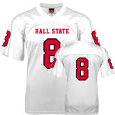 Replica White Adult Football Jersey-#10