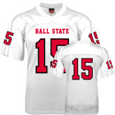 Replica White Adult Football Jersey-#92