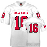 Replica White Adult Football Jersey-#16