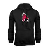 Black Fleece Hood-Cardinal