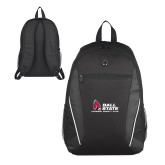 Atlas Black Computer Backpack-Donor Club