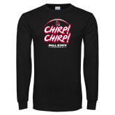 Black Long Sleeve T Shirt-Chirp Chirp