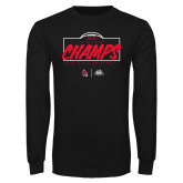Black Long Sleeve T Shirt-2020 Arizona Bowl Champs