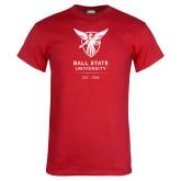Red T Shirt-Centennial Mark