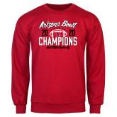 Red Fleece Crew-2020 Arizona Bowl Champions