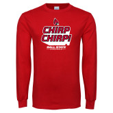 Red Long Sleeve T Shirt-Slogan / Hashtag 1
