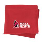 Red Sweatshirt Blanket-Donor Club