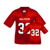 Youth Replica Red Football Jersey-#32