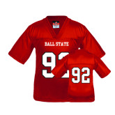Youth Replica Red Football Jersey-#92