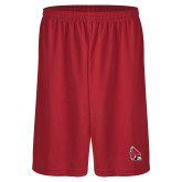 Midcourt Performance Red 11 Inch Game Short-Ball State Cardinals w/Cardinal