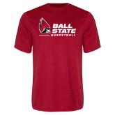 Performance Red Tee-Ball State Basketball