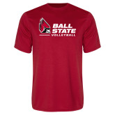 Performance Red Tee-Ball State Volleyball