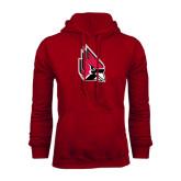 Cardinal Fleece Hood-Cardinal