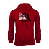 Cardinal Fleece Hood-Cross Country Sneaker